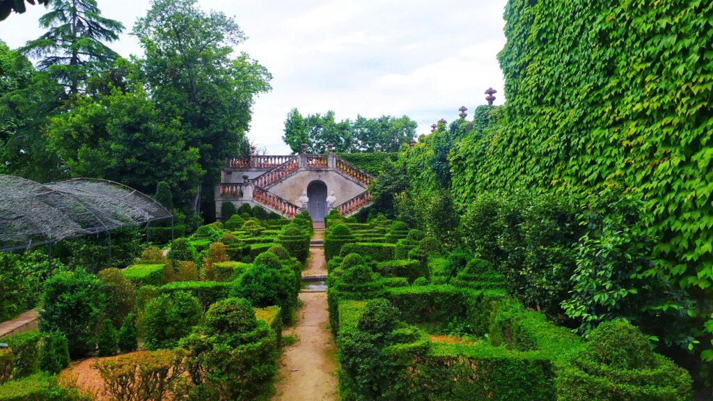 Барселона парк лабиринт