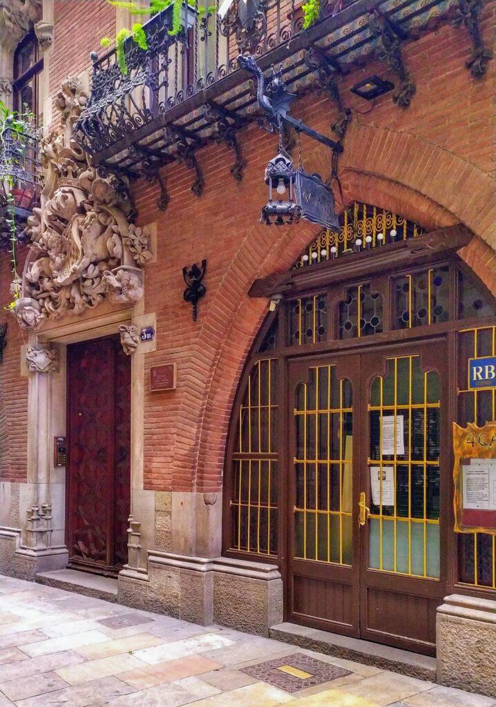 Кафе Четыре кота в Барселоне