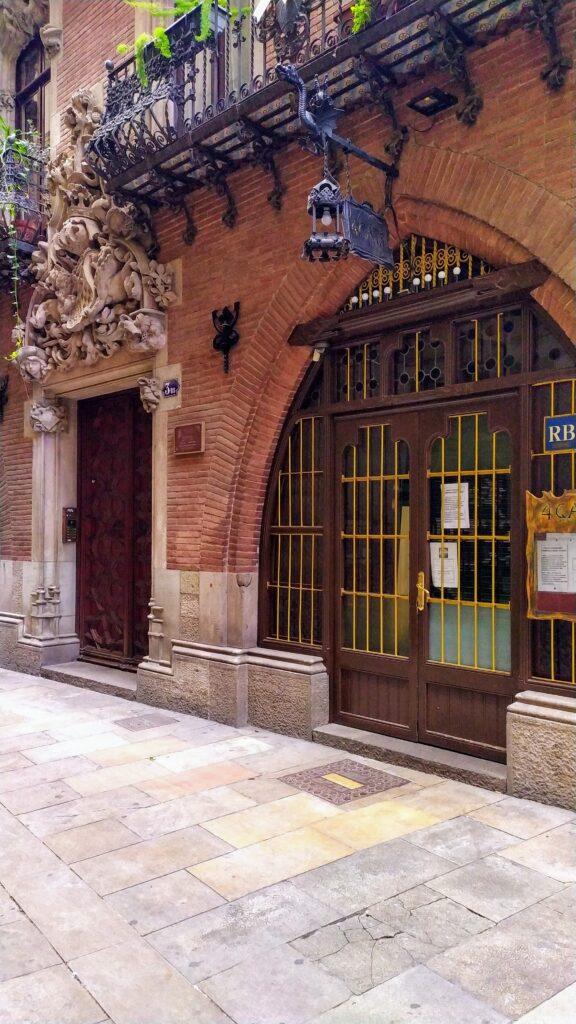 ресторан четыре кота ы Барселоне