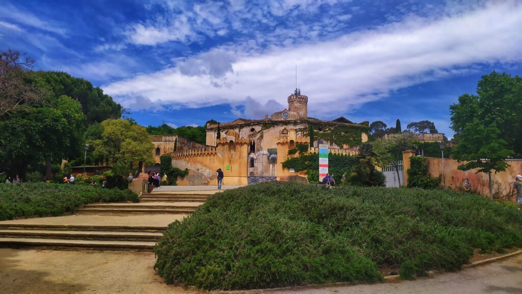 сады и парки в Барселоне