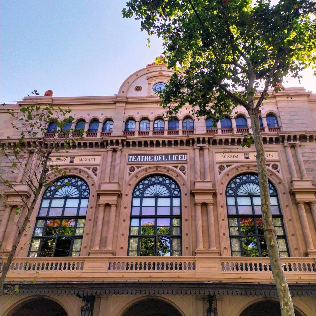 театр Лисео в Барселоне