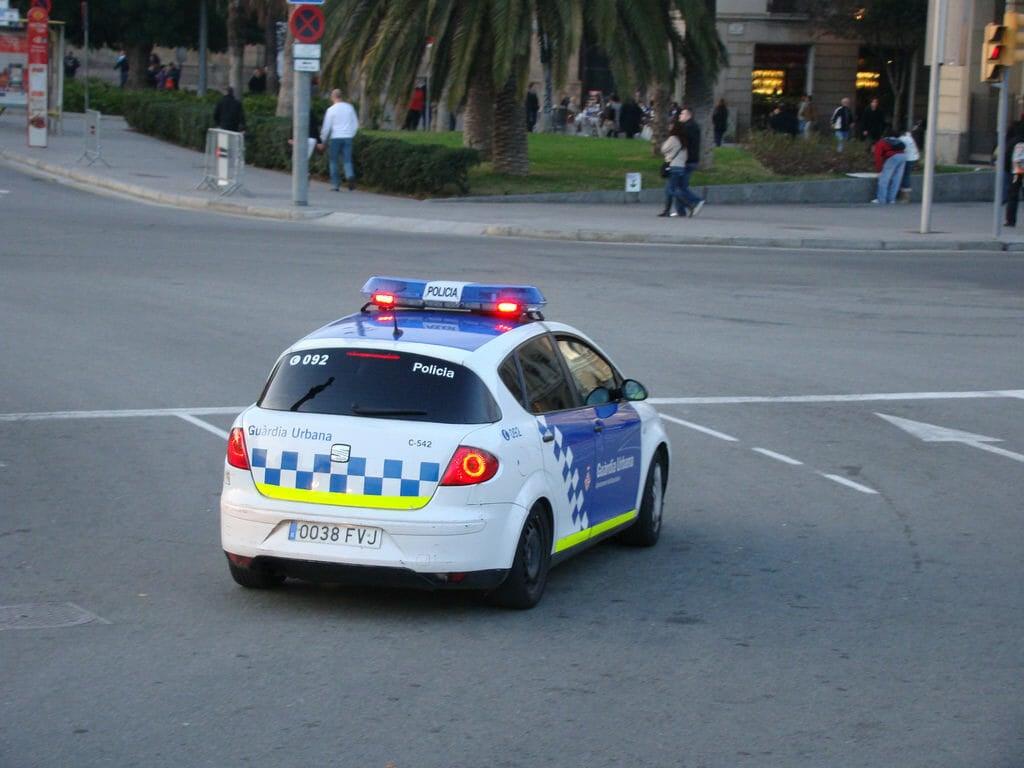 Телефон полиции в Барселоне