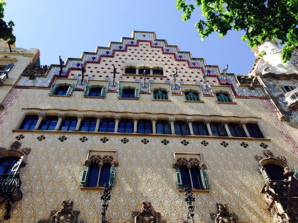 Дом Аматллер в Барселоне