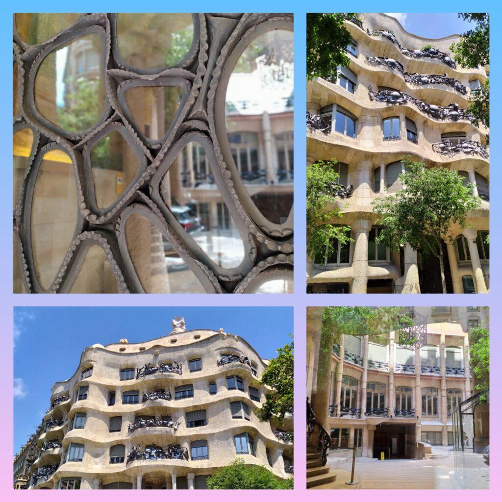 дом Мила Антонио Гауди в Барселоне