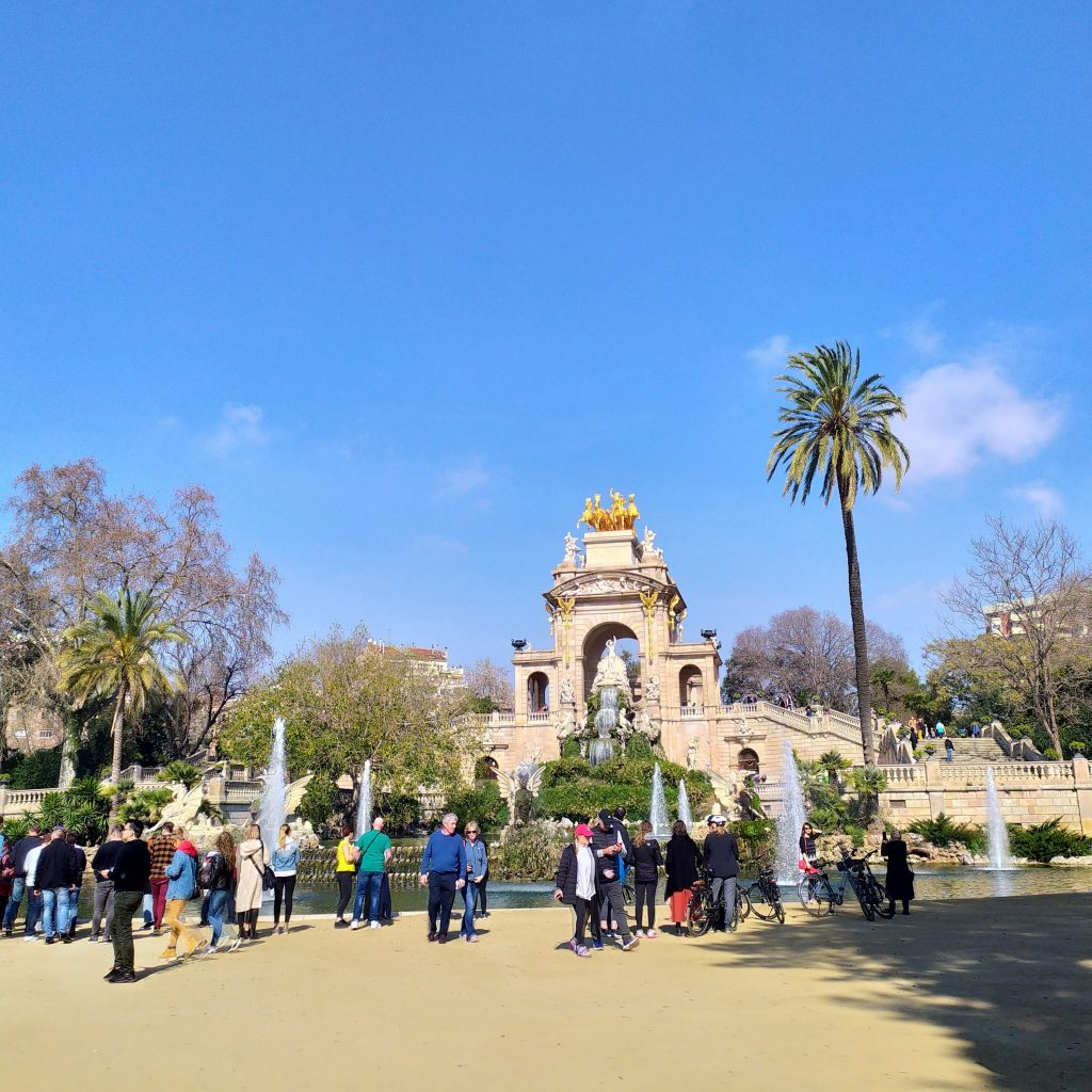 Парк Цитадель в Барселоне