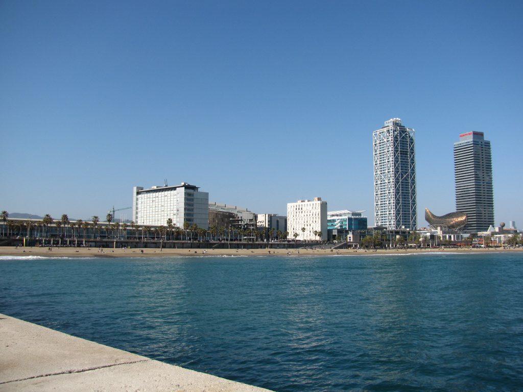 олимпийский порт в Барселоне