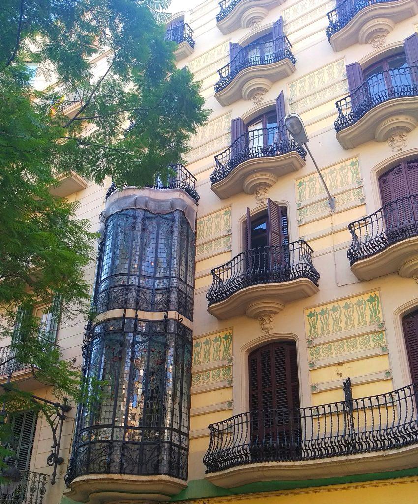 район Грасия в Барселоне
