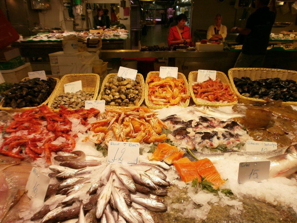 морепродукты в Барселоне