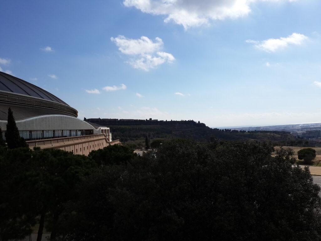 дворец Сан Жорди в Барселоне