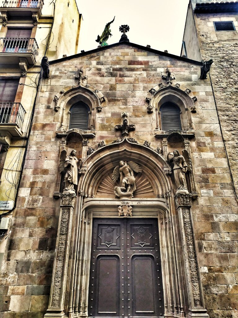 церковь Ла Мерсе в Барселоне