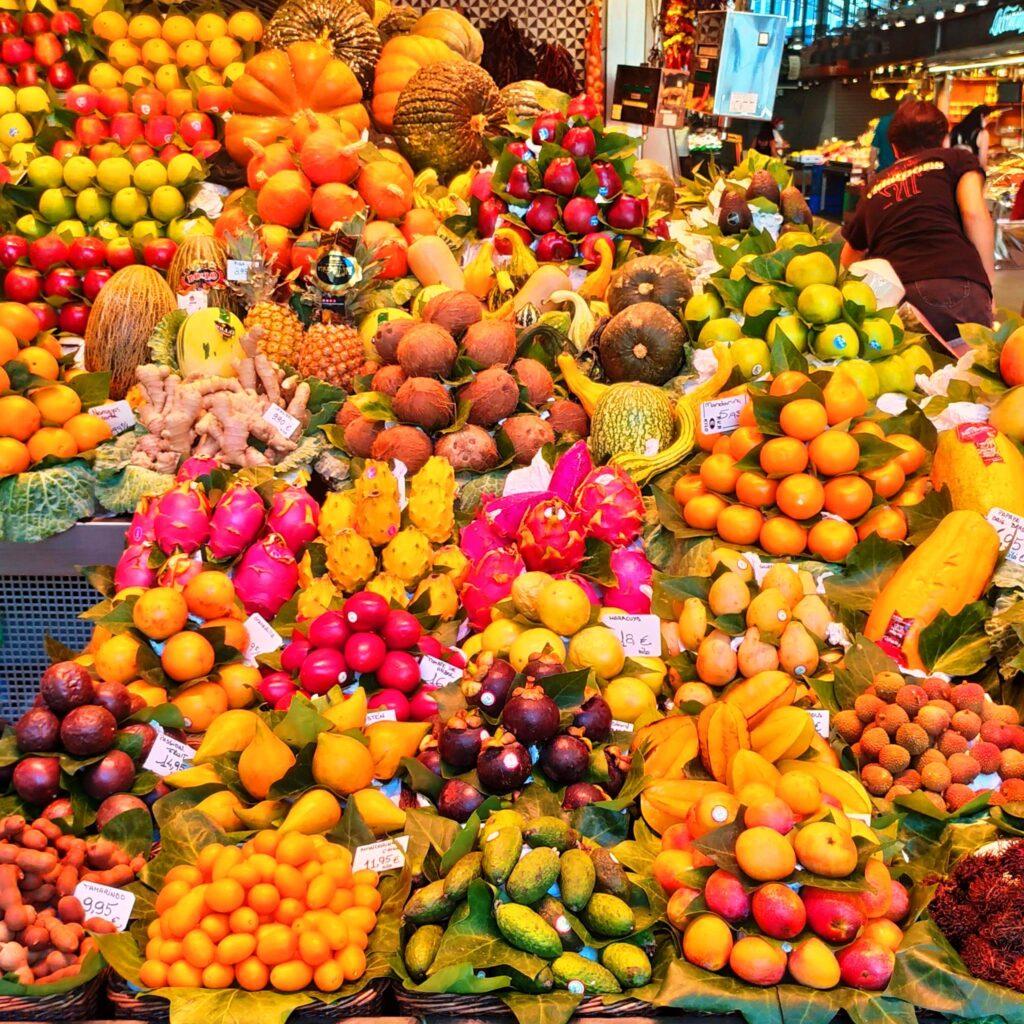Лучший рынок в Барселоне