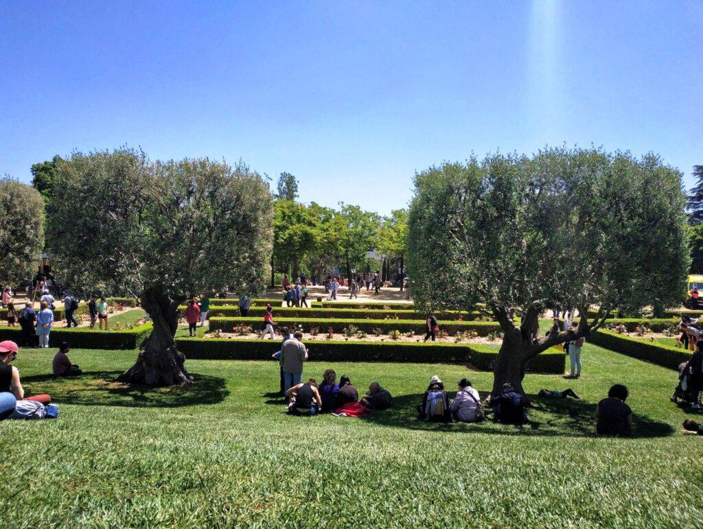 Парк Сервантес