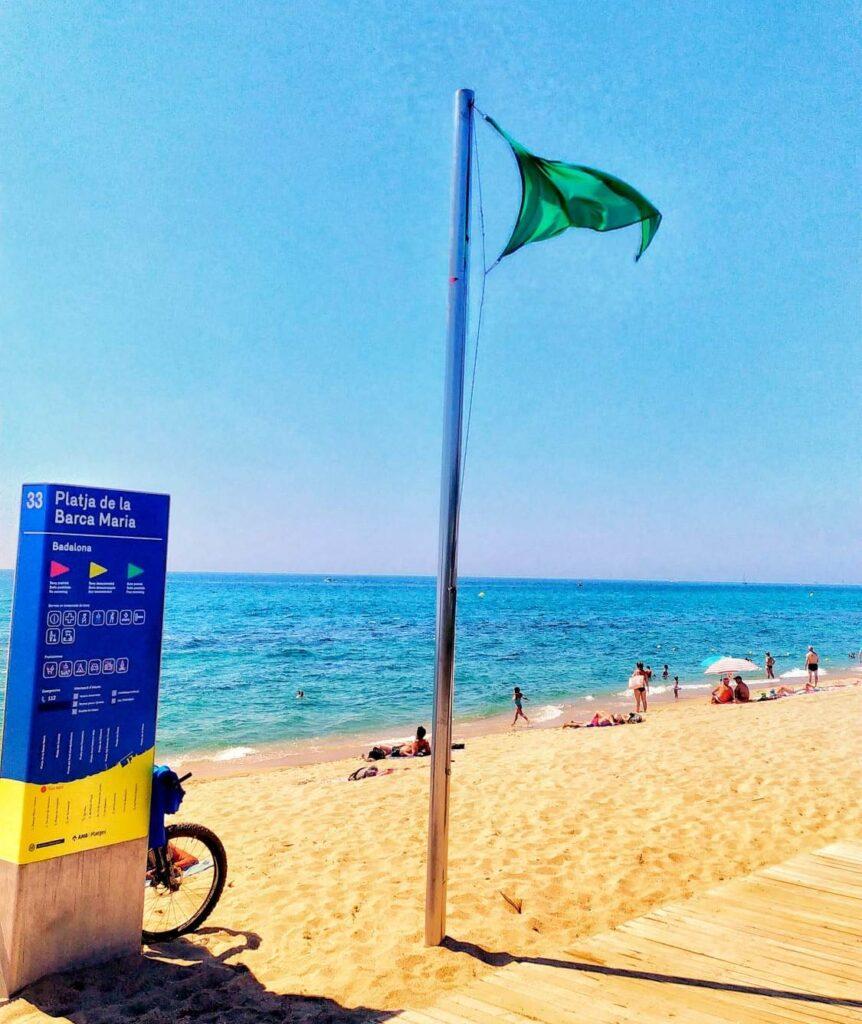 пляжи Барселоны