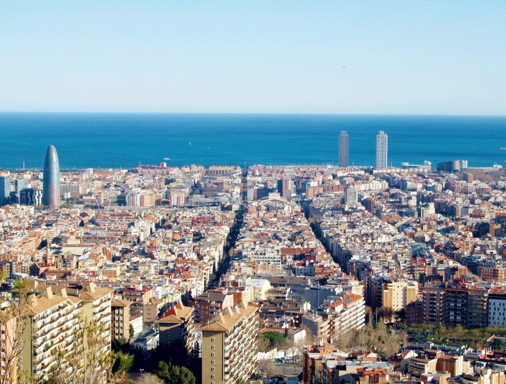Барселона виды