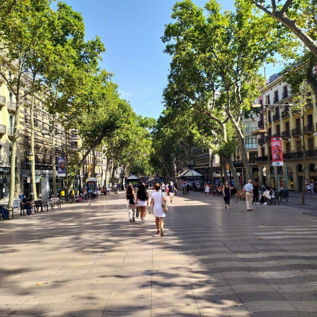 рамблас в Барселоне