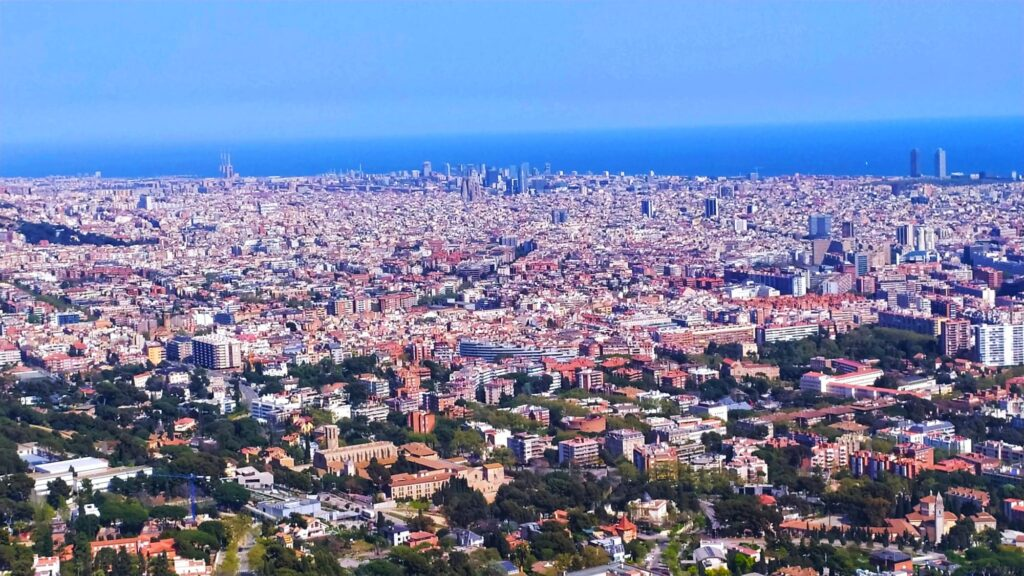 Виды Барселоны
