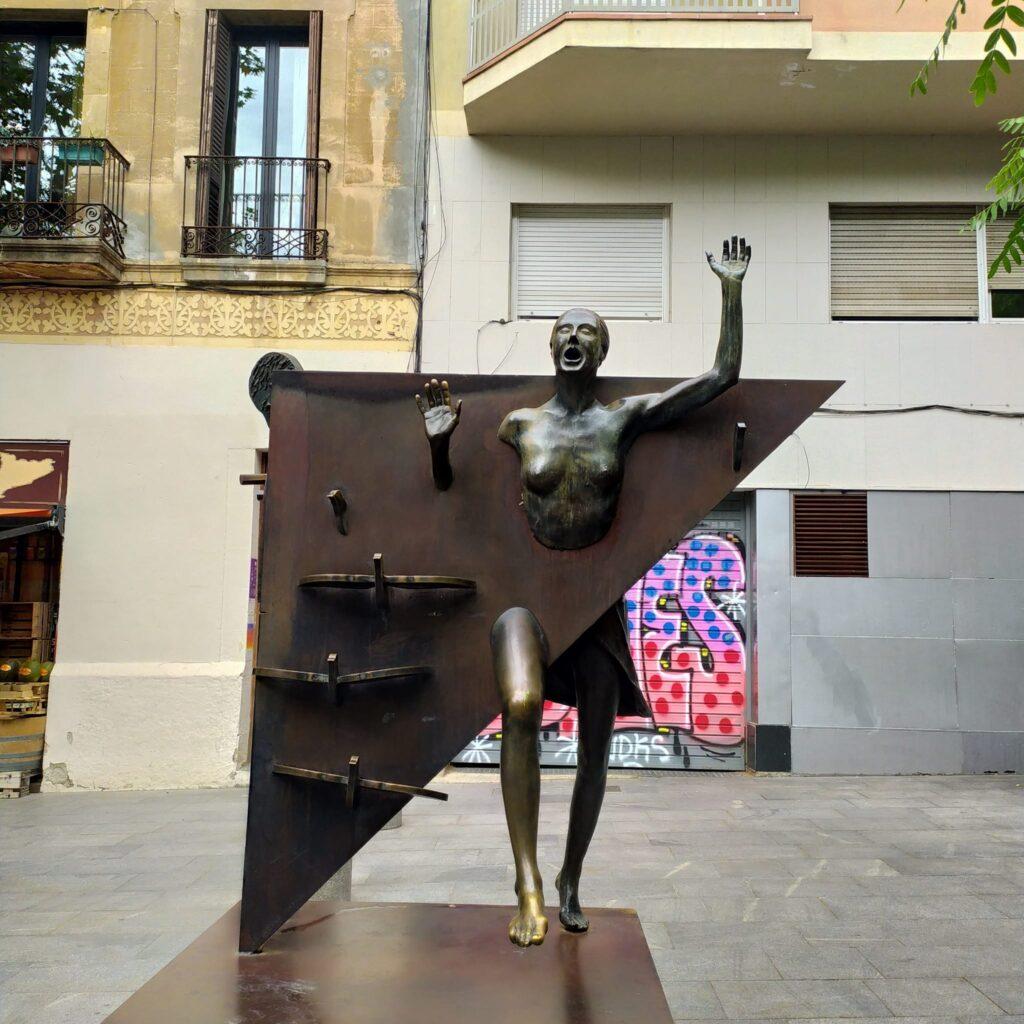 район Грасии в Барселоне